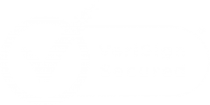 verisign secured logo white